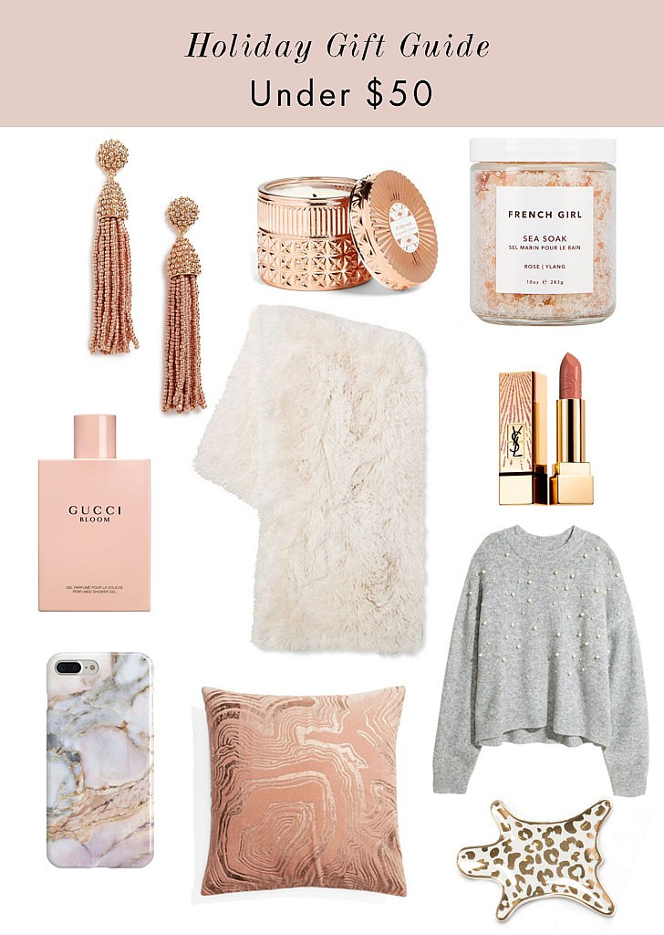 Luxe Holiday Gifts Under 50 Coco Blush